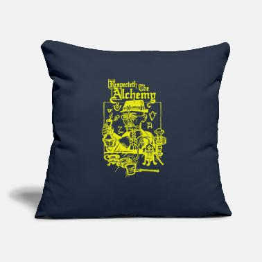 "Alchemy Respecteth The Alchemy - Throw Pillow Cover 18"" x 18"""