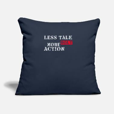 "Bolt Action Less talk more bolt action - Throw Pillow Cover 18"" x 18"""