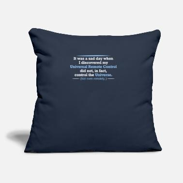 "Remote Control Remote Control - Throw Pillow Cover 18"" x 18"""