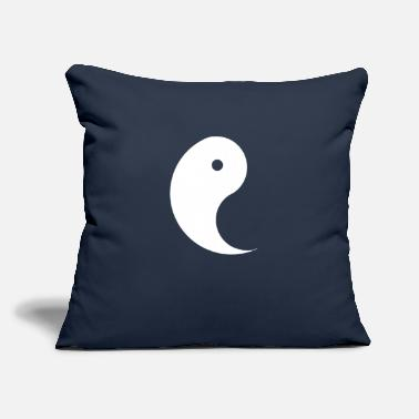"Yin Yin Yang Yin - Throw Pillow Cover 18"" x 18"""