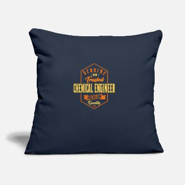 "Genuine and trusted Chemical Engineer - Throw Pillow Cover 18"" x 18"""
