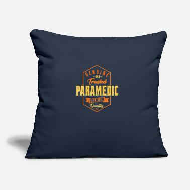 "Genuine and trusted Paramedic - Throw Pillow Cover 18"" x 18"""