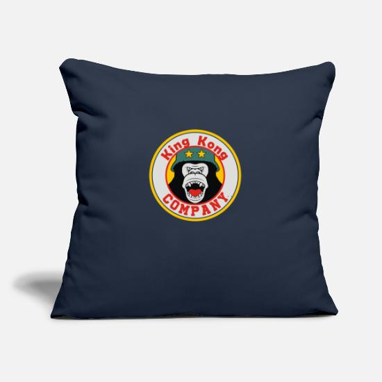 "Driver Pillow Cases - Cab Company - Throw Pillow Cover 18"" x 18"" navy"