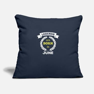 "Born In are born in - Throw Pillow Cover 18"" x 18"""