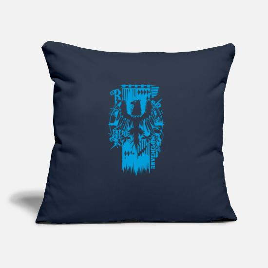"Game Pillow Cases - EAGLE CREST - Throw Pillow Cover 18"" x 18"" navy"
