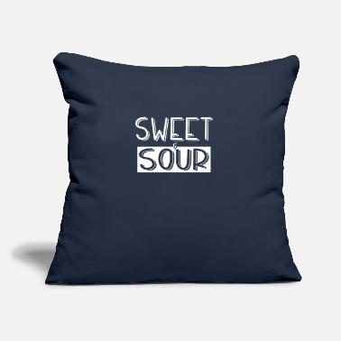 "Sour Sweet and sour - Throw Pillow Cover 18"" x 18"""