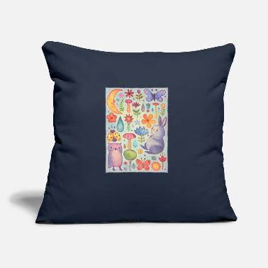"kids - Throw Pillow Cover 18"" x 18"""