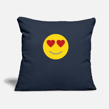 "In Love - Throw Pillow Cover 18"" x 18"""