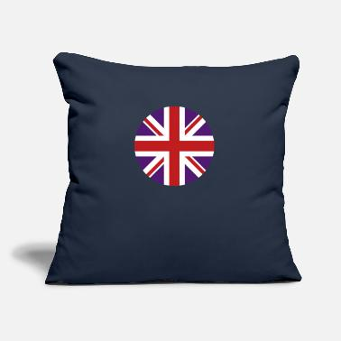 "United Kingdom - Throw Pillow Cover 18"" x 18"""
