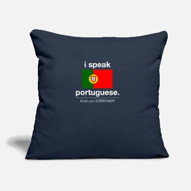 "Portuguese Portuguese superpower - Throw Pillow Cover 18"" x 18"""