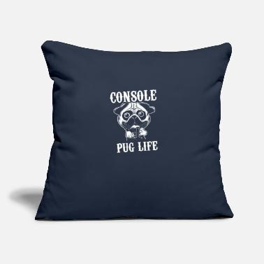 "Console Console - Throw Pillow Cover 18"" x 18"""