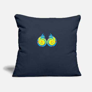 "Graphic Art graphics art - Throw Pillow Cover 18"" x 18"""