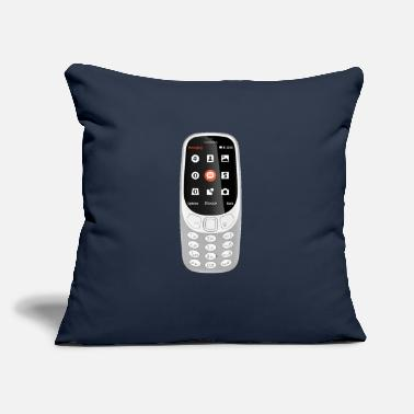 "Mobile Phone Mobile Phone - Throw Pillow Cover 18"" x 18"""