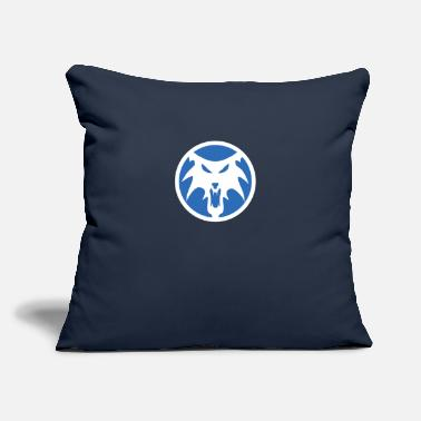 "Clan Frostwolf Clan - Throw Pillow Cover 18"" x 18"""