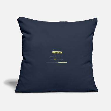 "Lampin Have a Pretty Good - Throw Pillow Cover 18"" x 18"""