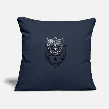 "Special Guest - Throw Pillow Cover 18"" x 18"""
