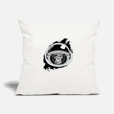 Black And White Collection Space monkey Black and white Art - Throw Pillow Cover