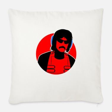 Dr.Disrespect Shroud Gaming Gift PUBG - Throw Pillow Cover