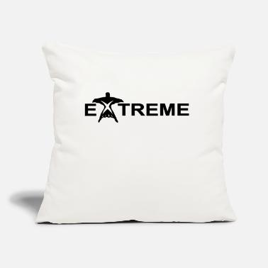 "Extreme extreme - Throw Pillow Cover 18"" x 18"""