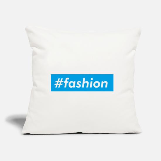 "Blue Sky Pillow Cases - hashtag, hash, for story, stories, story - Throw Pillow Cover 18"" x 18"" natural white"