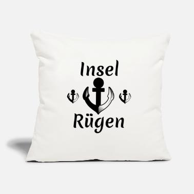 "Holiday Island island rügen,holiday,island, - Throw Pillow Cover 18"" x 18"""