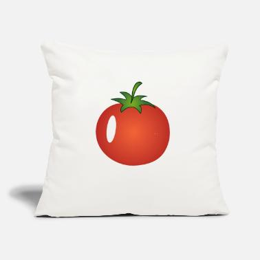 "Tomato Tomato, Tomatos,Tomatoe, Tomatoes - Throw Pillow Cover 18"" x 18"""