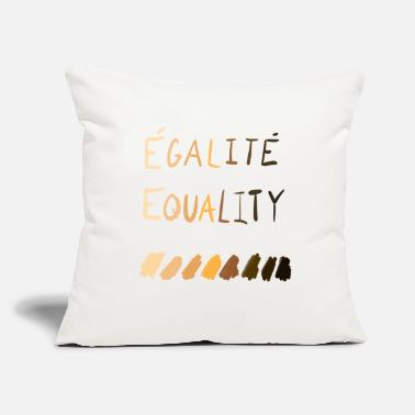 "Equalizer Equality / Equality - Throw Pillow Cover 18"" x 18"""