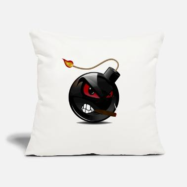 "Bomb Bomb - Throw Pillow Cover 18"" x 18"""