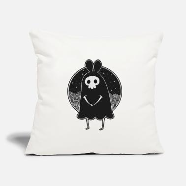 "Felix Selection Shy Death Rabbit - Reaper - Throw Pillow Cover 18"" x 18"""