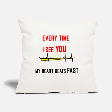 "Pickup Line Pickup Lines Funny - Throw Pillow Cover 18"" x 18"""