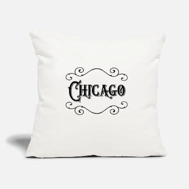 "Chicago Chicago - Throw Pillow Cover 18"" x 18"""