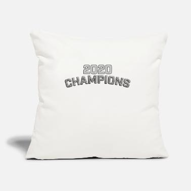 "2020 Champions Sports Team Winners - Throw Pillow Cover 18"" x 18"""