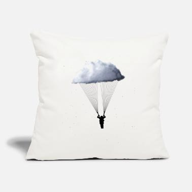 "Skydiving Gear Skydiving Shirt Night Cloud Star Tee Parachuting - Throw Pillow Cover 18"" x 18"""