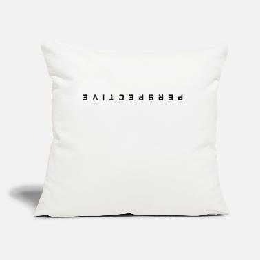 "View Viewing point of view perspective - Throw Pillow Cover 18"" x 18"""