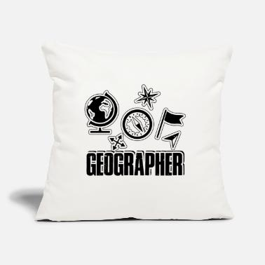 Geographic Geographer Shirt - Throw Pillow Cover