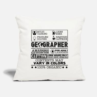 Geographic Geographer Job - Throw Pillow Cover
