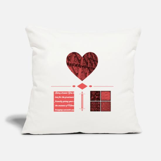 "Birthday Pillow Cases - Country House - Throw Pillow Cover 18"" x 18"" natural white"