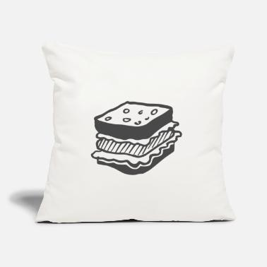 "Sandwich Sandwich - Throw Pillow Cover 18"" x 18"""