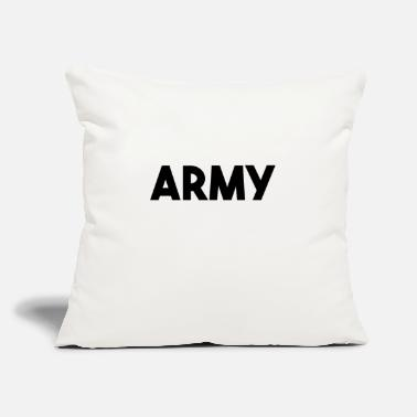 "Army Reserve Army - Throw Pillow Cover 18"" x 18"""