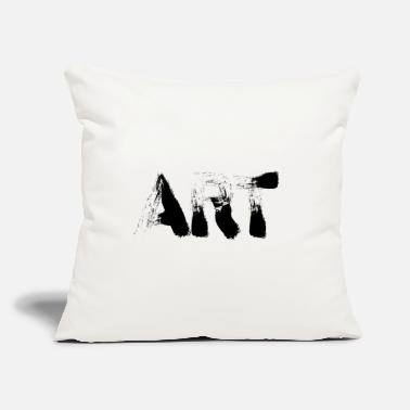 "Art Art - Art Easy - Throw Pillow Cover 18"" x 18"""