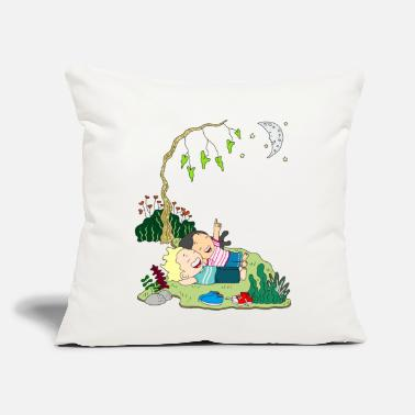 "Childhood childhood - Throw Pillow Cover 18"" x 18"""