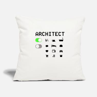 "Architect ARCHITECT - Throw Pillow Cover 18"" x 18"""