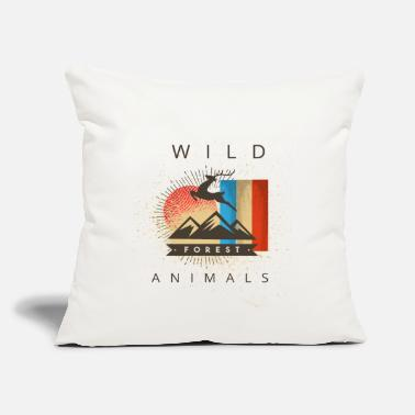 "Animal Lover animal lovers - Throw Pillow Cover 18"" x 18"""