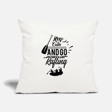 "Rafting Rafting Rafting Rafting Rafting - Throw Pillow Cover 18"" x 18"""