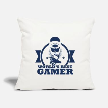 "Pc PC Gamer PC Gamer PC Gamer PC Gamer - Throw Pillow Cover 18"" x 18"""