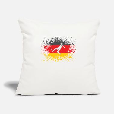 "European Champion german flag soccer player european champion - Throw Pillow Cover 18"" x 18"""