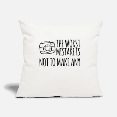 "Wisdom Wisdom wisdom photography - Throw Pillow Cover 18"" x 18"""