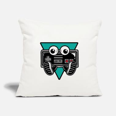 "Games Gaming Controller Nerdy - Throw Pillow Cover 18"" x 18"""