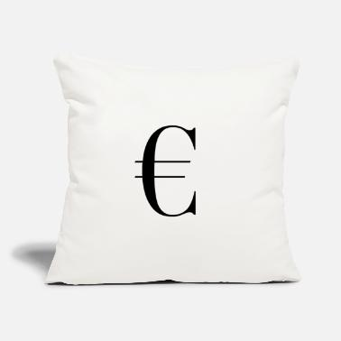 "Gelding € Geld Dollar Money - Throw Pillow Cover 18"" x 18"""