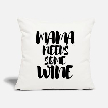 "Wine Lover wine lovers - Throw Pillow Cover 18"" x 18"""